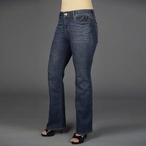 DKNY Soho Boot Cut Blue Jean